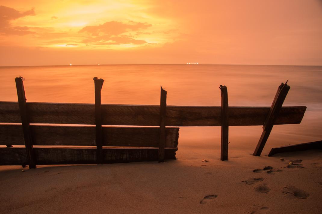 Kribi sunset, Cameroon