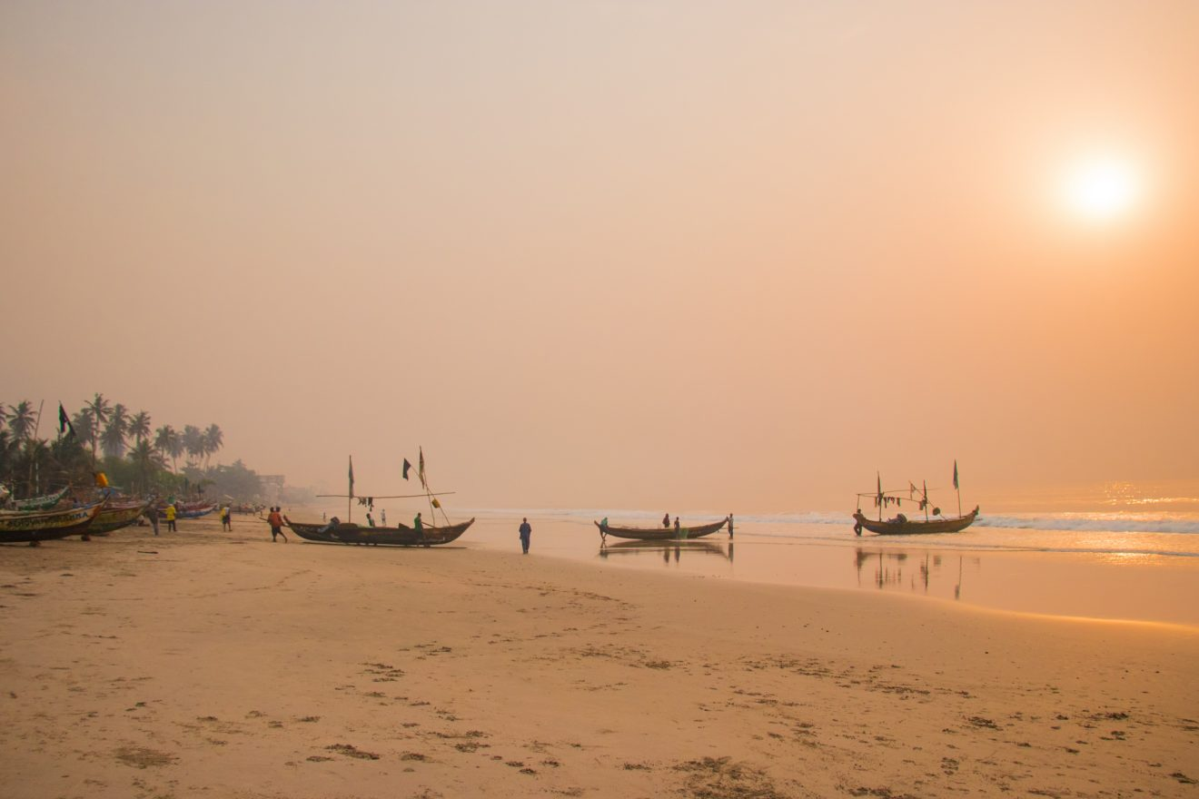 Kokrobite Beach, Ghana