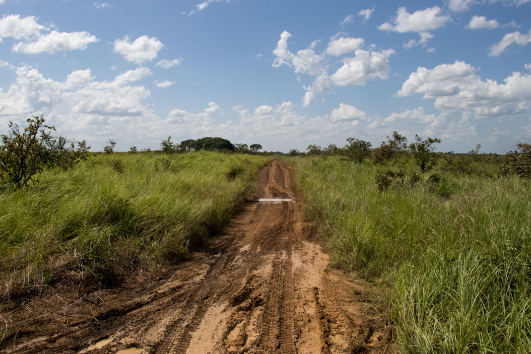 Gabon dirt roads