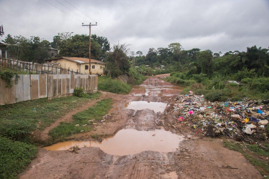 Gabon border