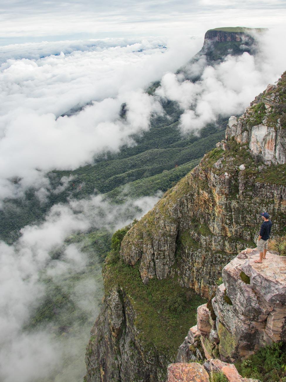 Above the clouds at Tundavala Gap - Angola