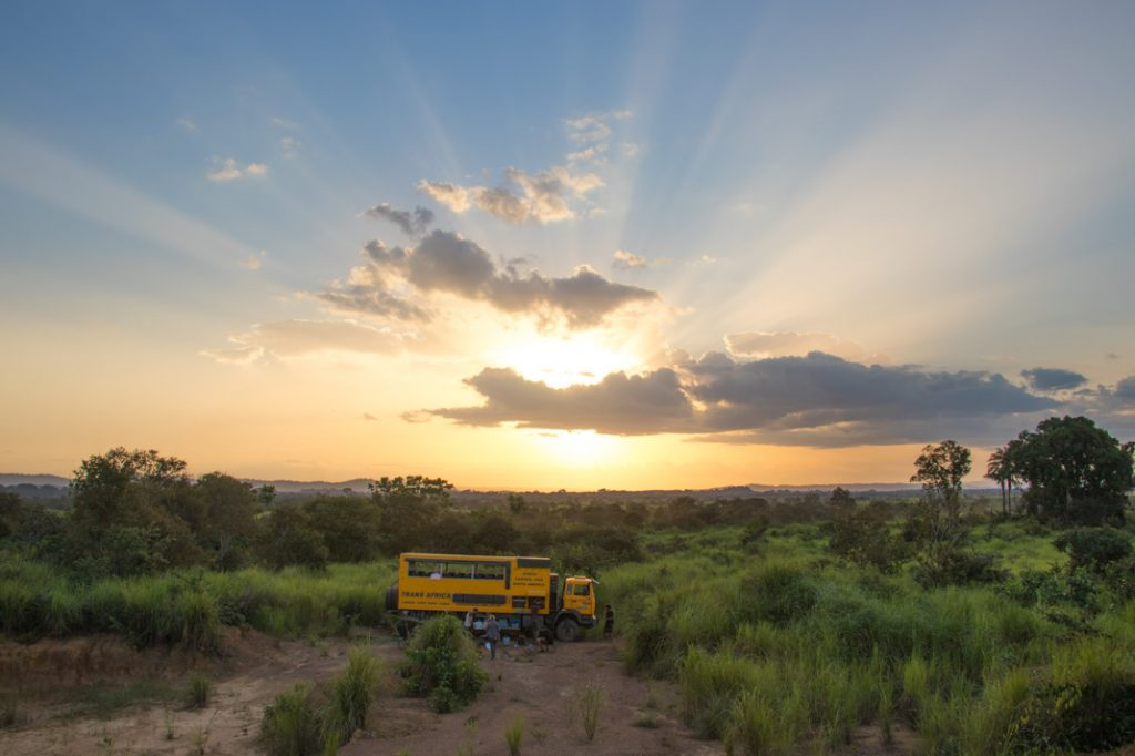 Congolese sunset