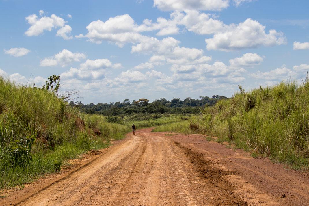 Mud track, Republic of the Congo