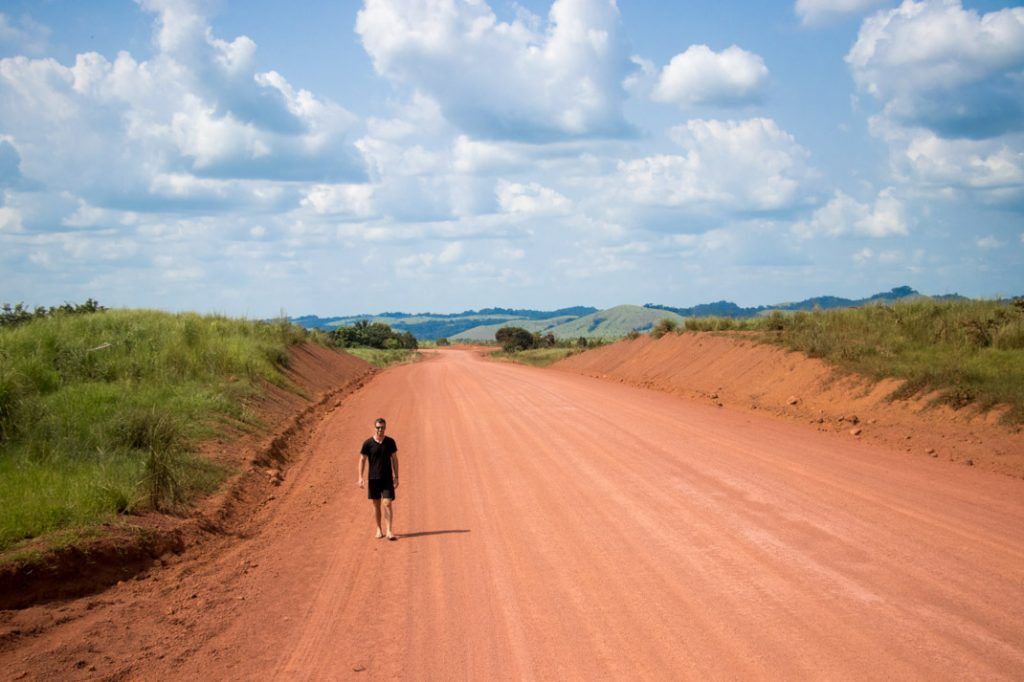 red road, Republic of the Congo