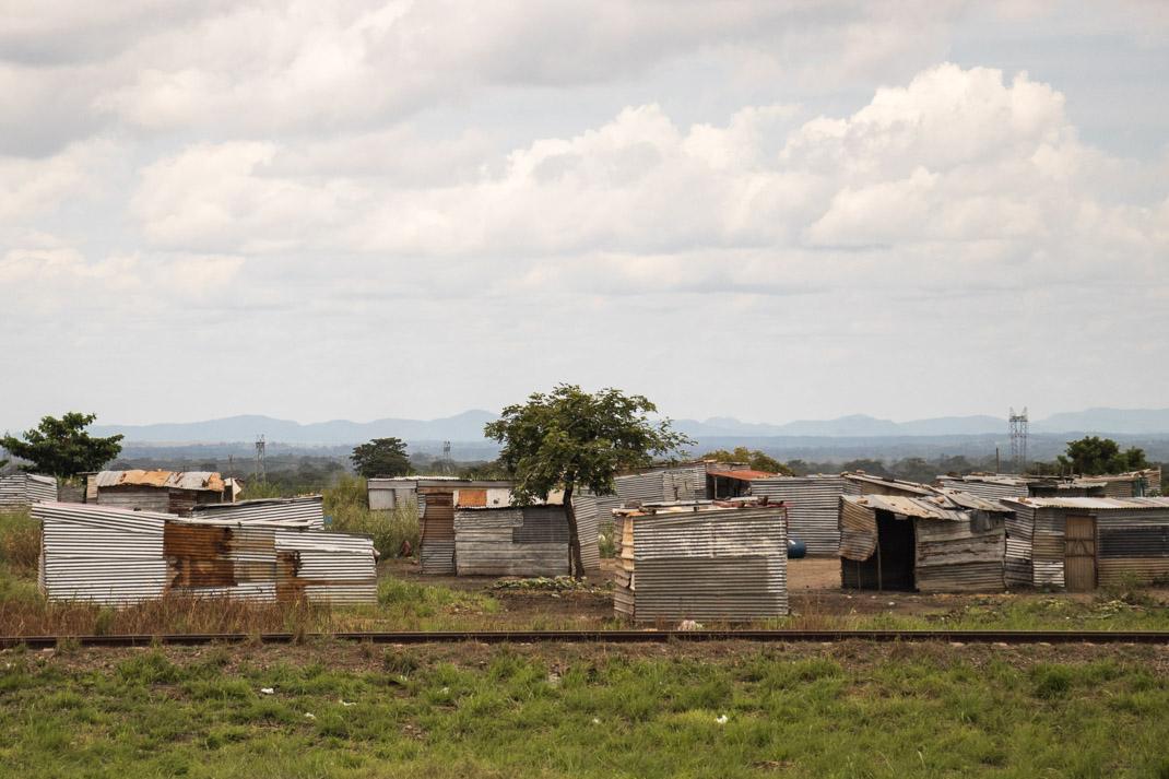 Angola huts