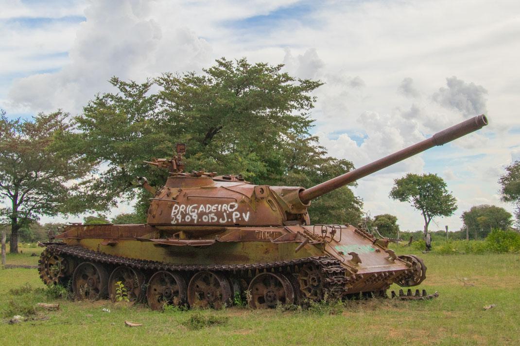 Angola tank