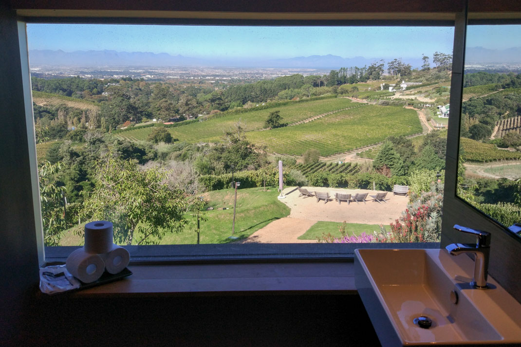 Beau Constantia wineries in South Africa