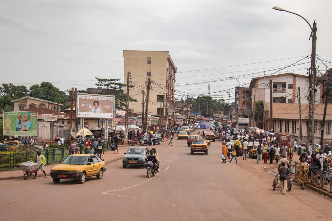 Yaounde traffic, Cameroon