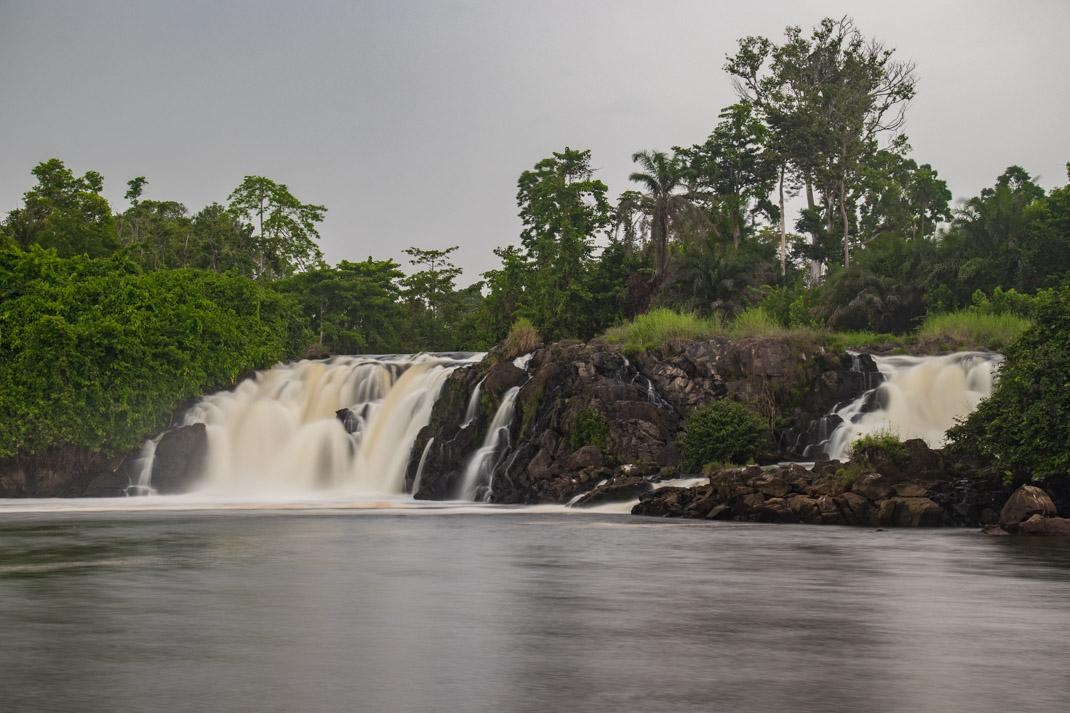 Chutes de la Lobe`falls, Cameroon