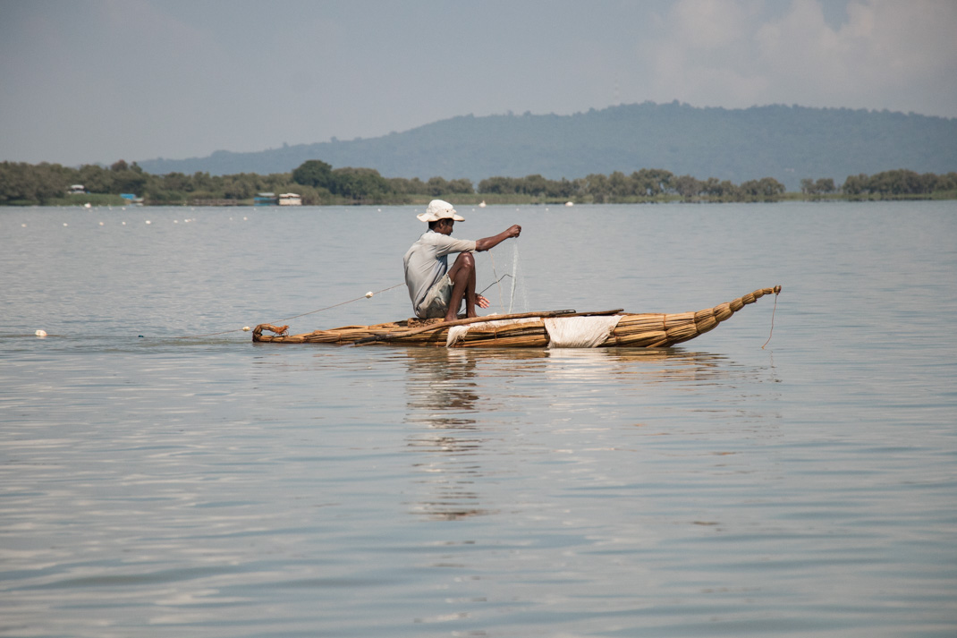 Tankwa Fisherman on Lake Tana