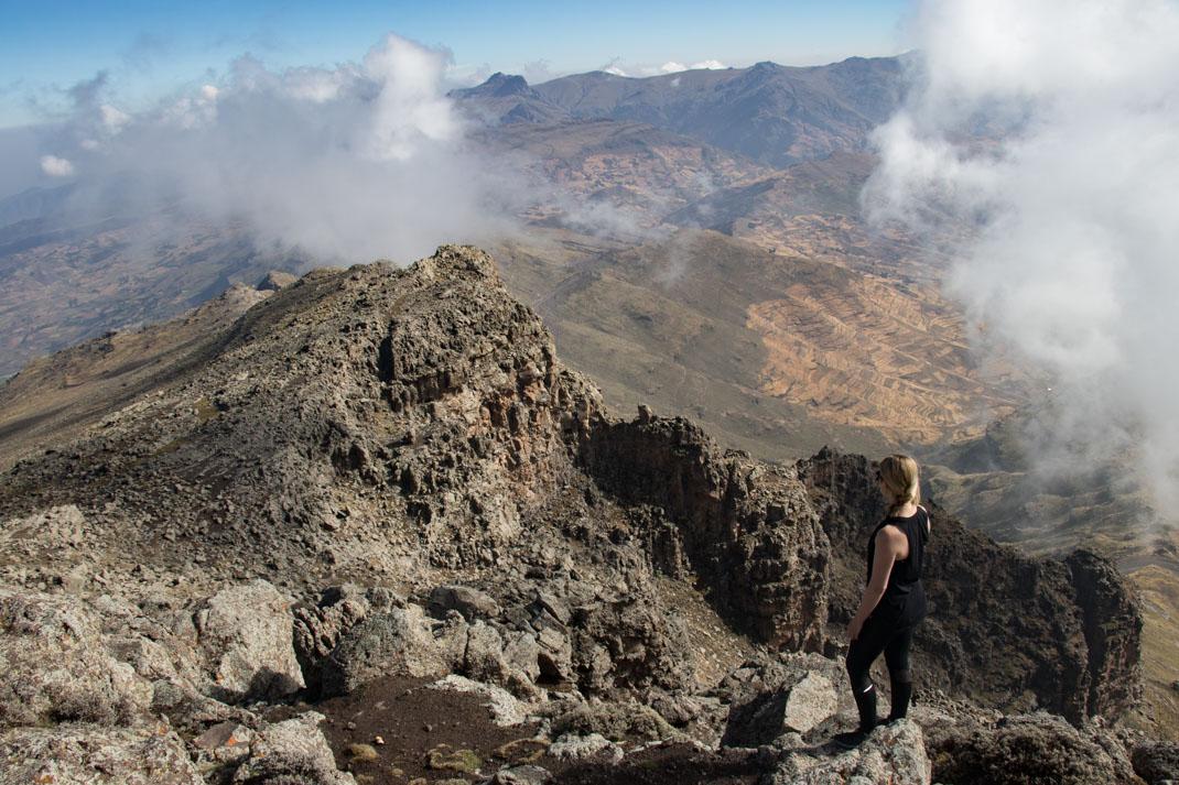 Mt Bhwait summit