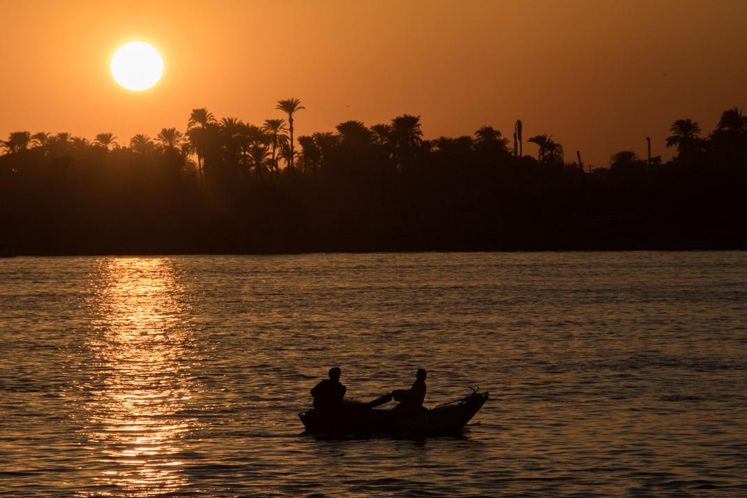 Egyptian sunset - Highlights of Egypt