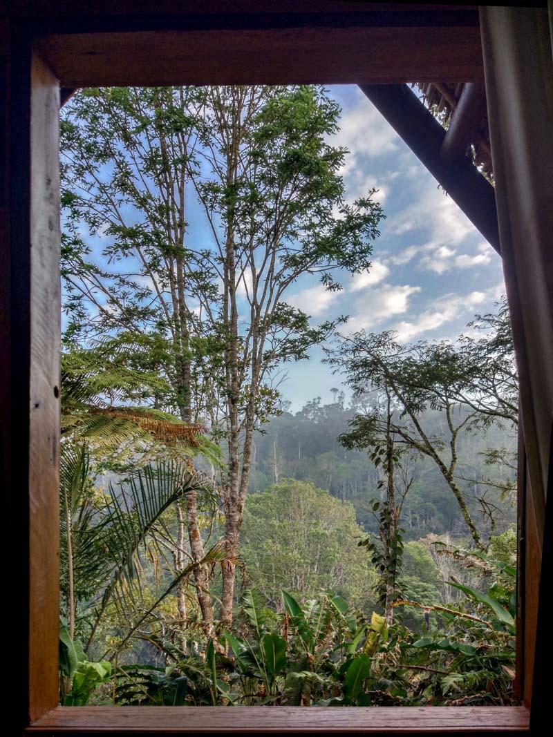 Morning view over Andasibe-Mantadia National Park from Feon'ny Ala