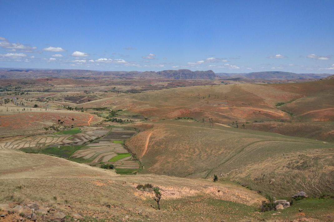 bare hills of Madagascar