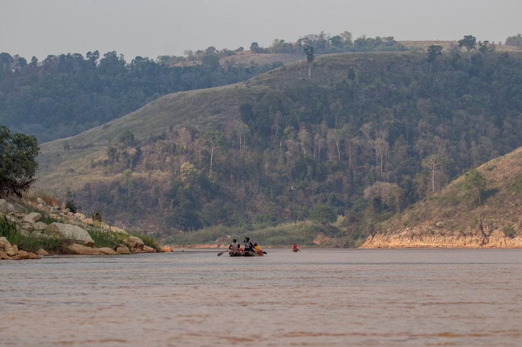 Tsiribihina River canoe