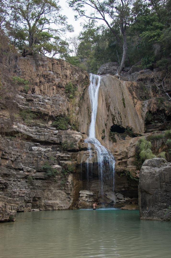 Tsiribihina waterfall