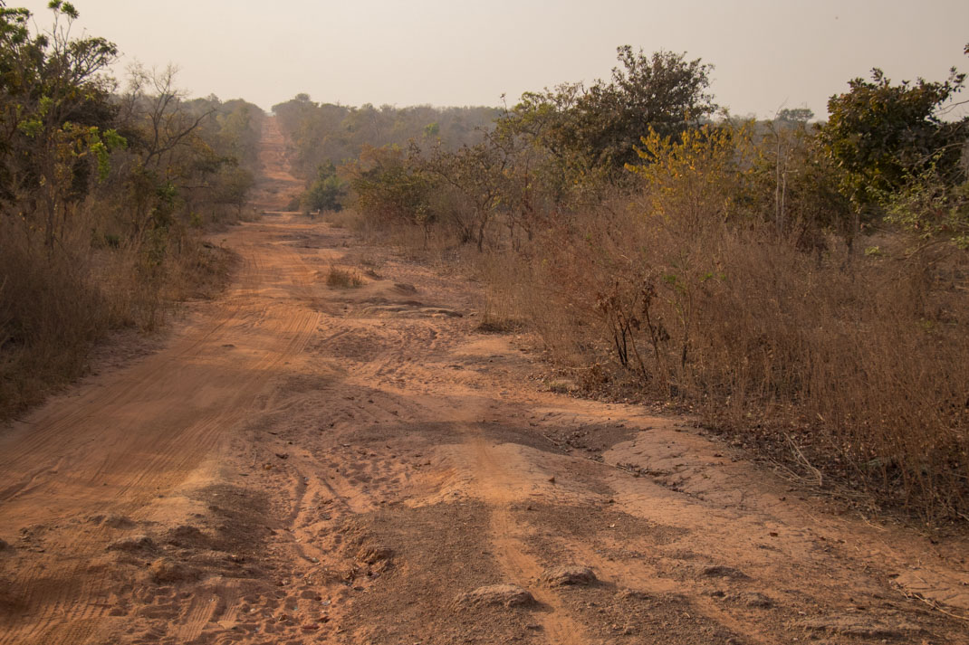 Dirt tracks of Nigeria