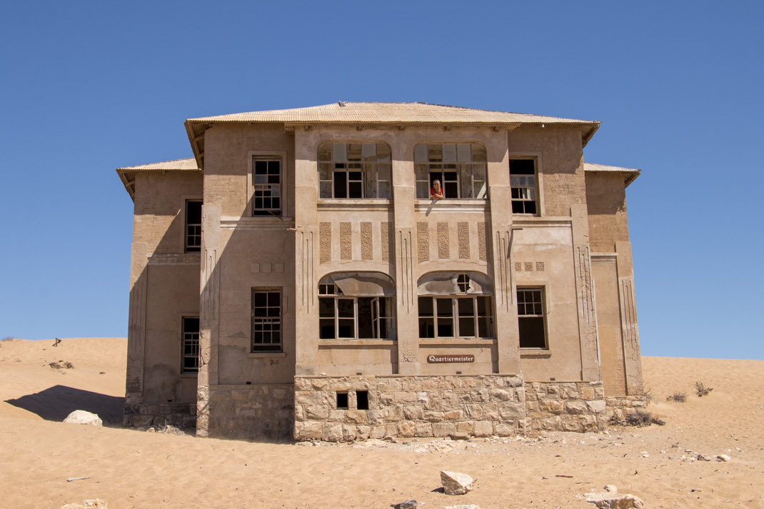 Kolmanskop building