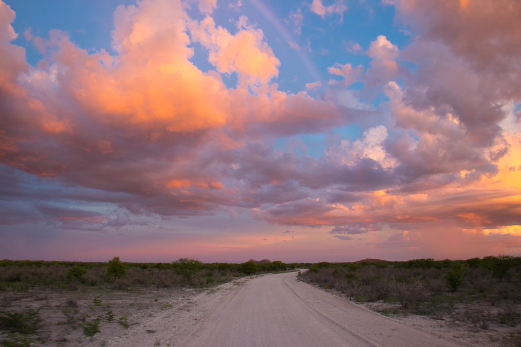 Etosha National Park Sunset