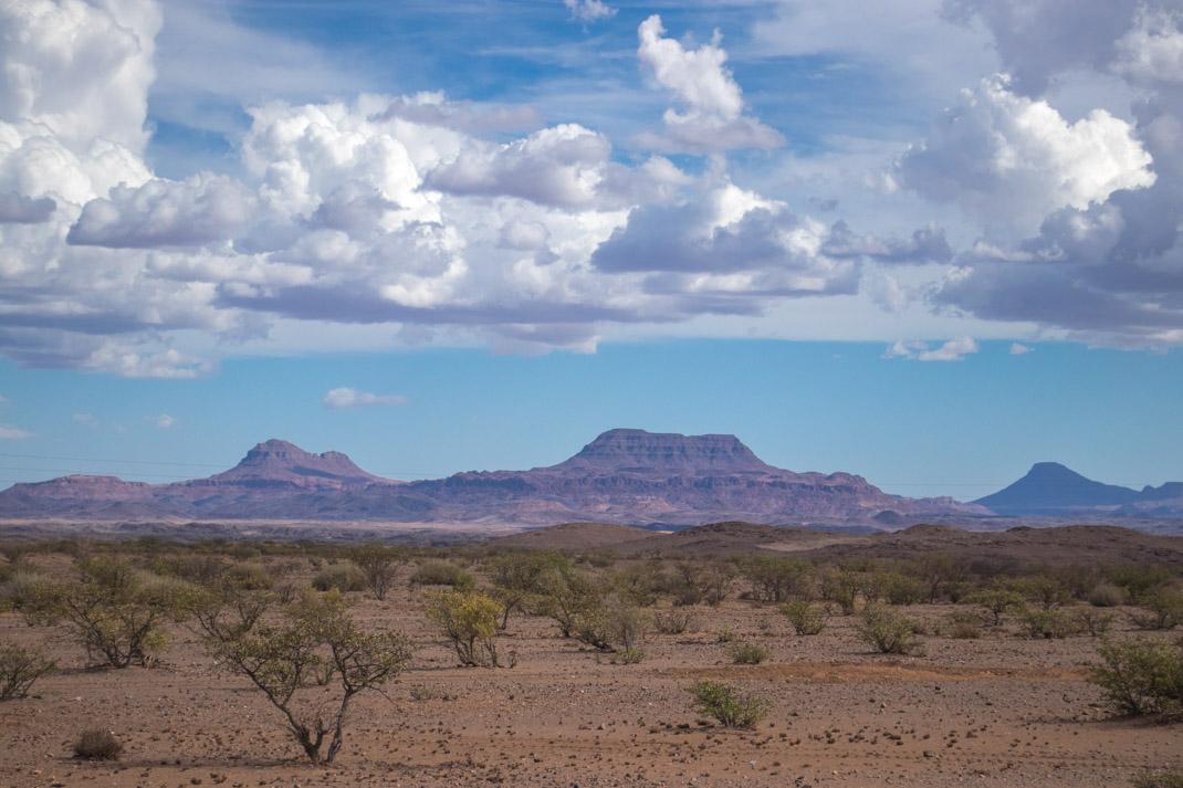 driving through Damaraland, Namibia