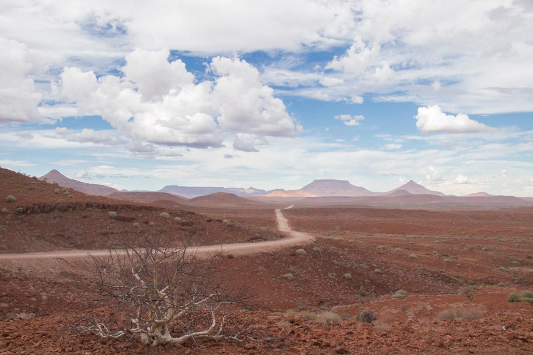 Overlanding through Damaraland and the Skeleton Coast