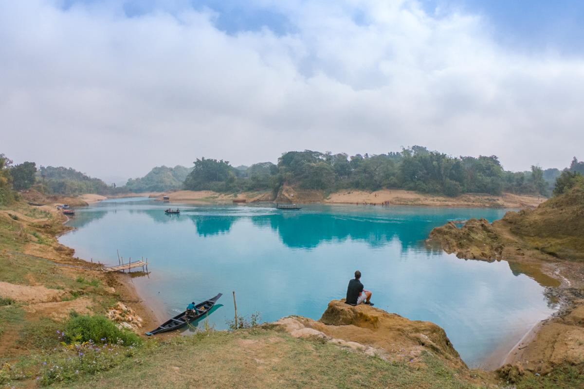 A colour changing Lalakhal River - Bangladesh