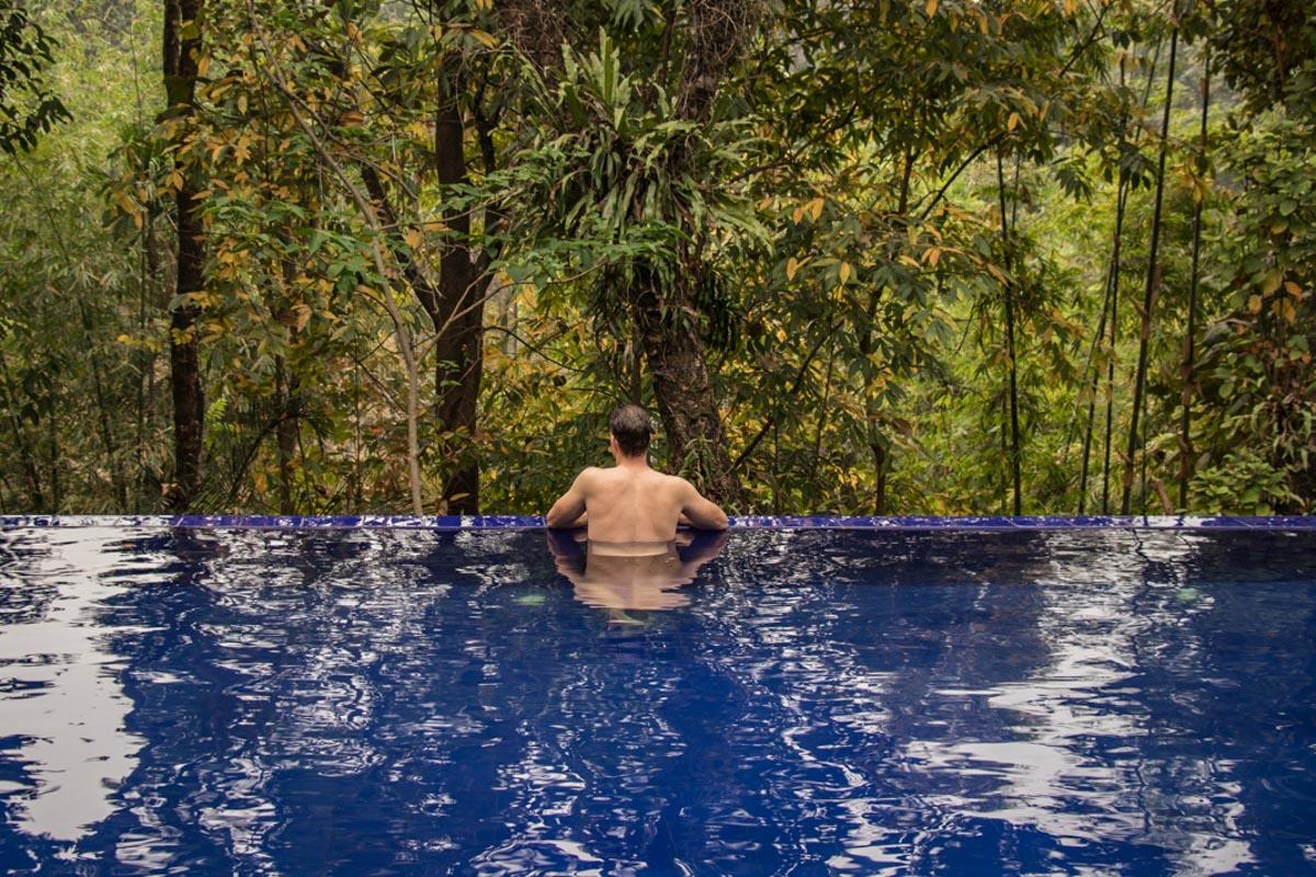 Nazimgarh Resort Infinity Pool