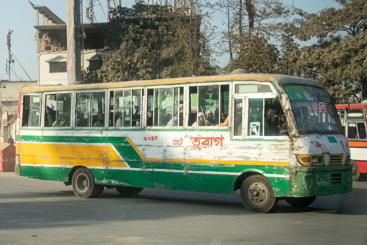 Dhaka Bus, Bangladesh