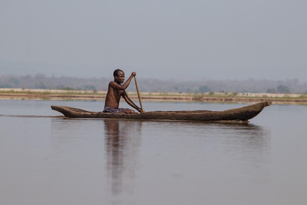 Tsiribihina River Boatman