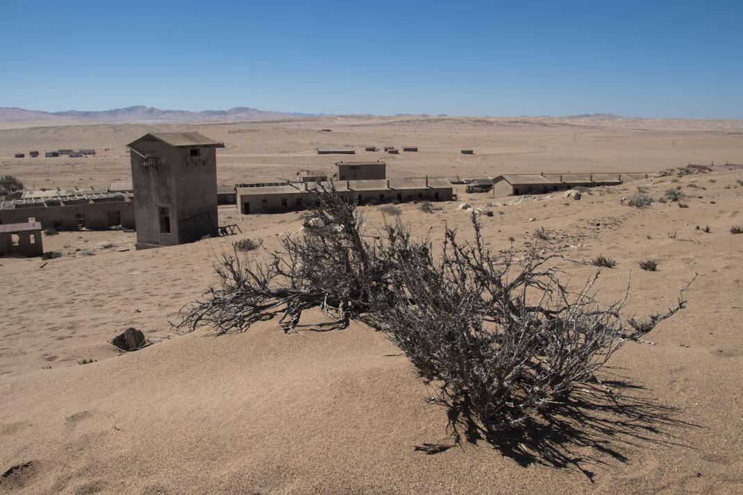 deserted Kolmanskop