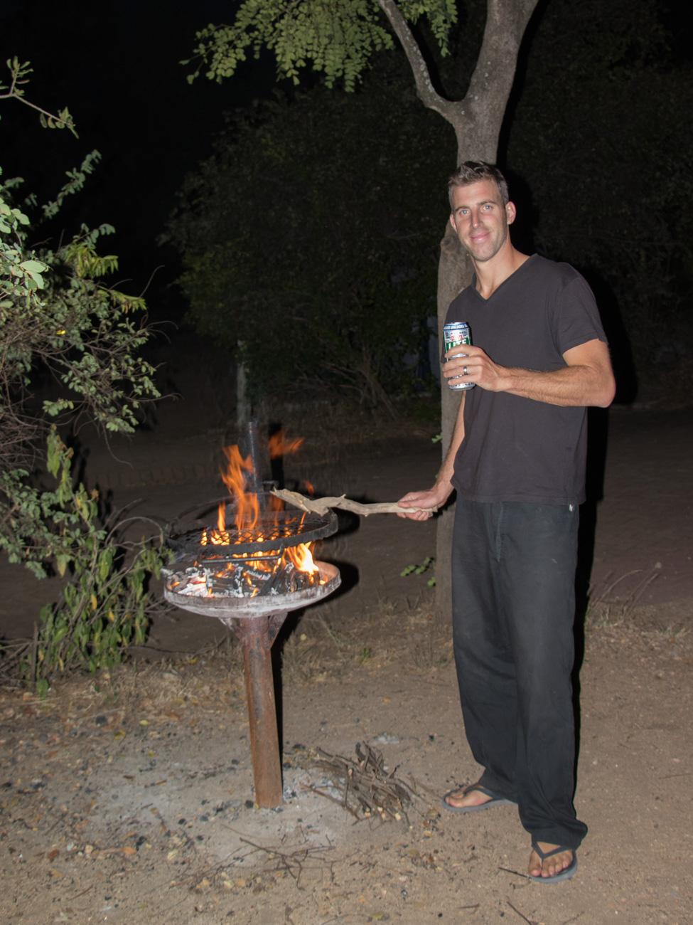 BBQ at Skukuza Camp, Kruger National Park