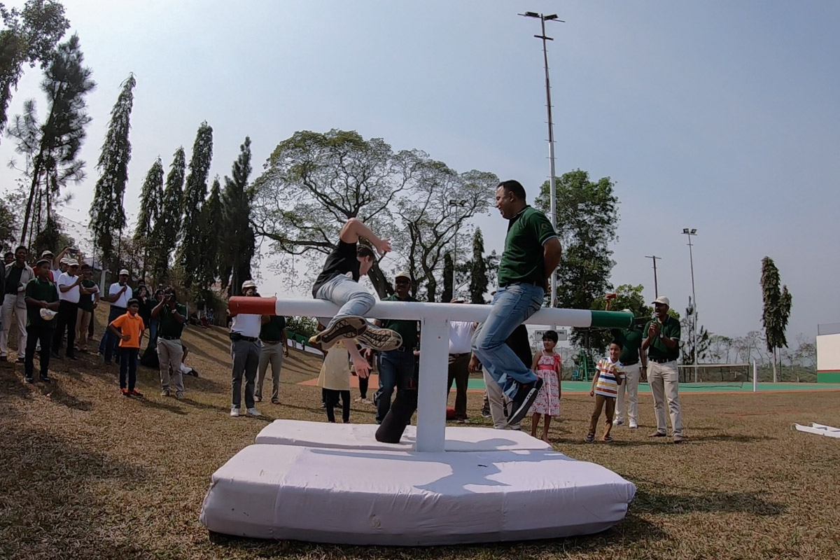 Pillow Fight at the Annual Sports Day 3