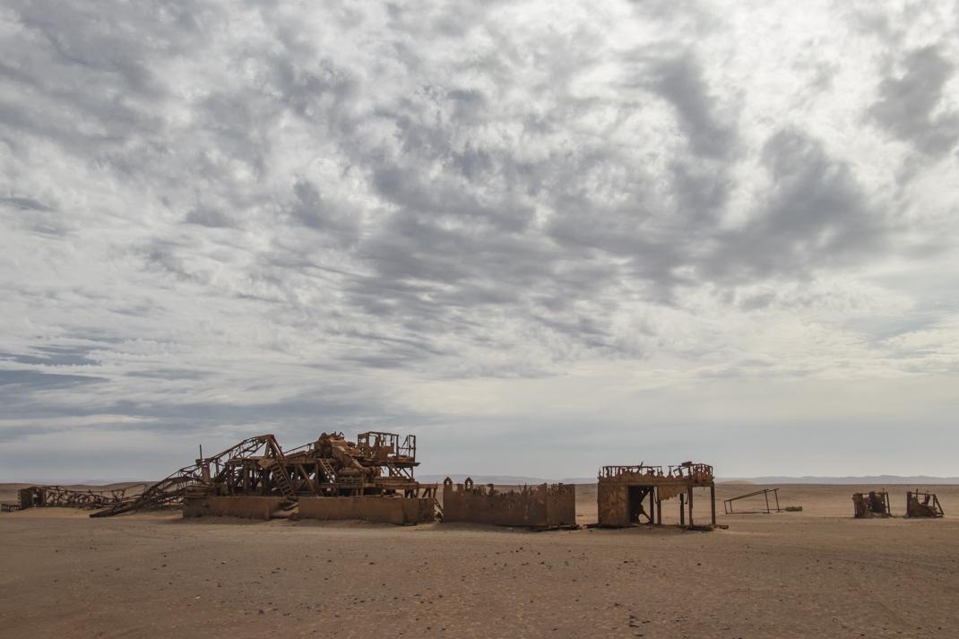 Abandoned Rig Damaraland and the Skeleton Coast