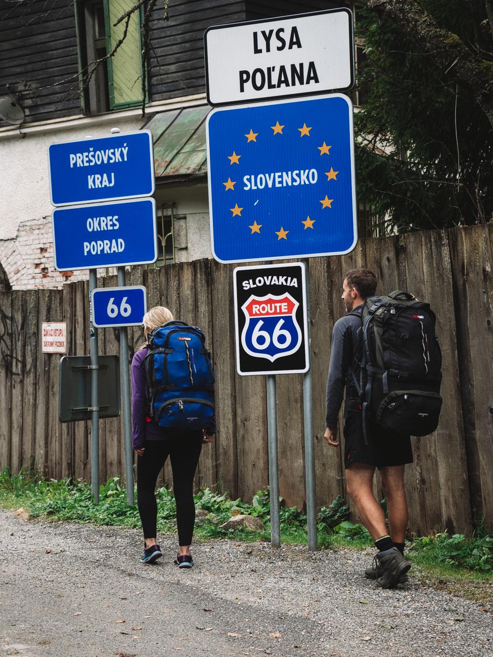 Slovakia border Crossing