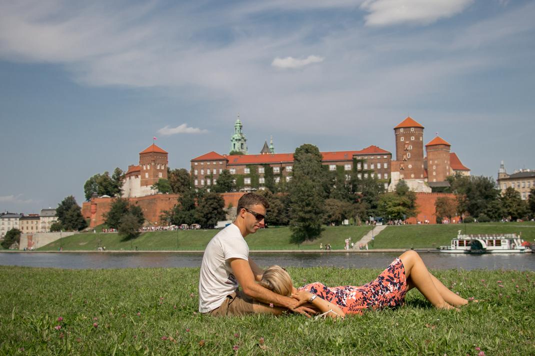 Wawle castle river views