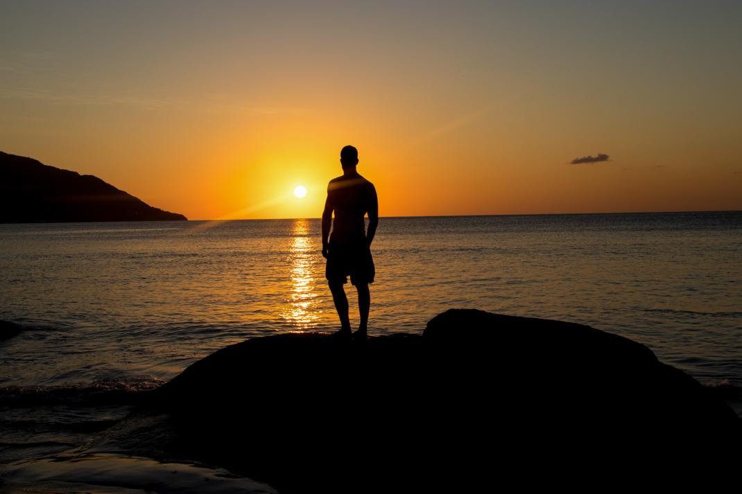Beau Vallon Sunset - Mahé Island