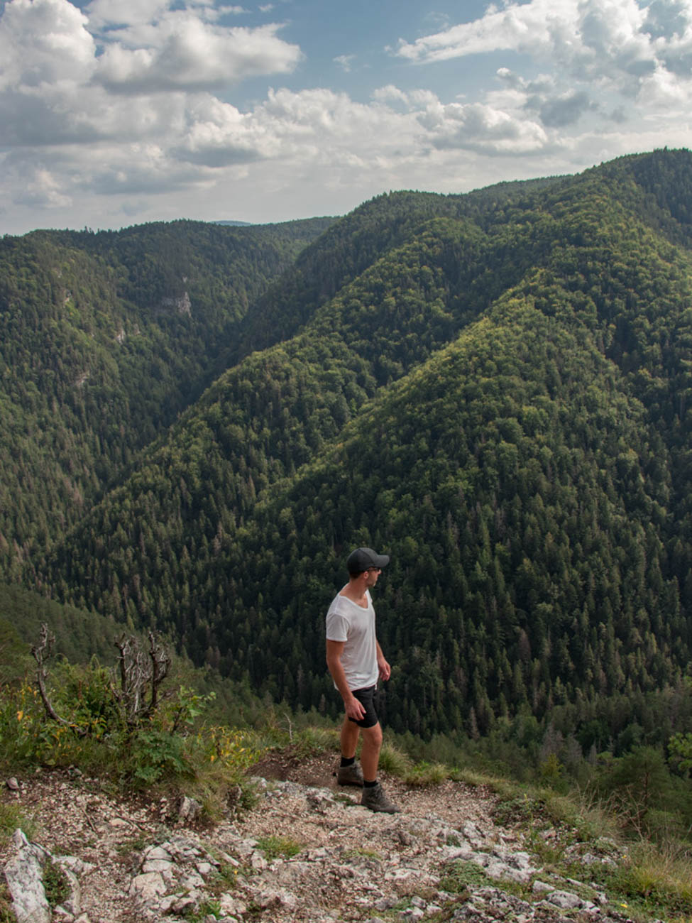 Slovak Paradise National Park hike