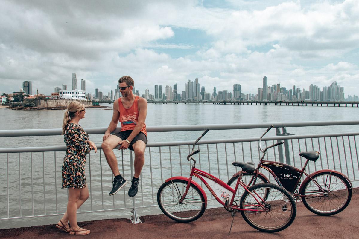 Panama City Highlights - Cycling the Cinta Costera track