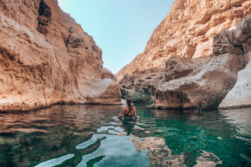 Wadi Shab Swim