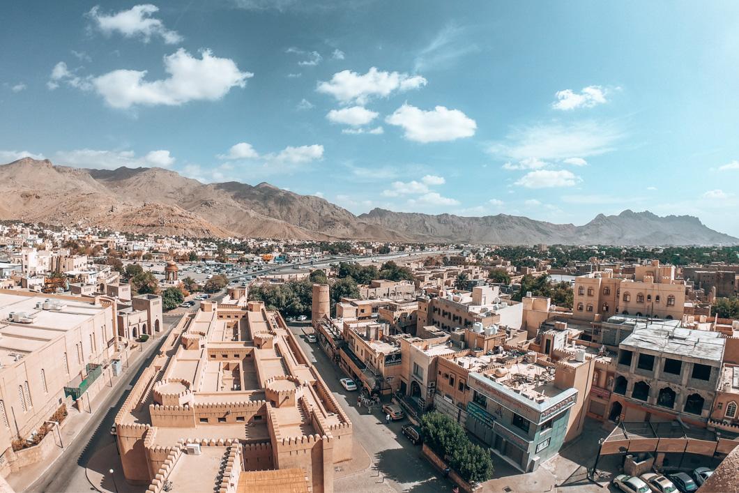 Nizwa Fort views - Oman Travel Guide