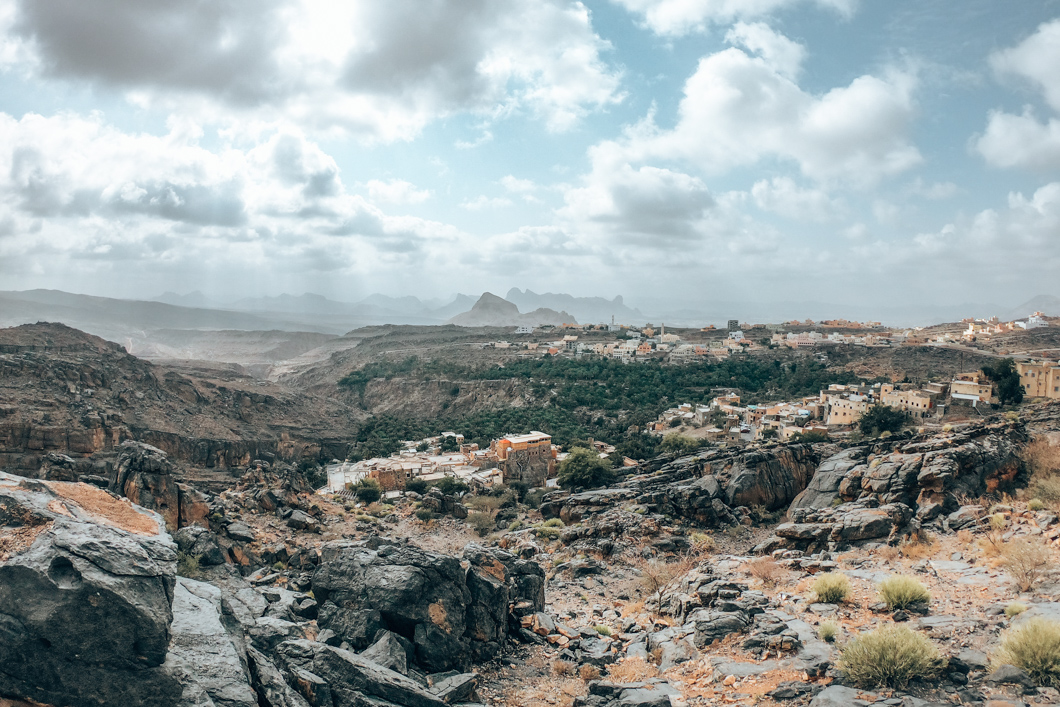 Misfat Al Abriyeen Views - Oman Travel guide
