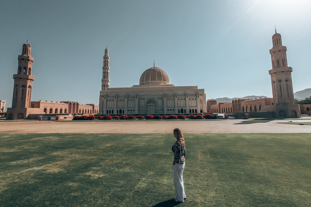 Sultan Qaboos Grand Mosque  grounds