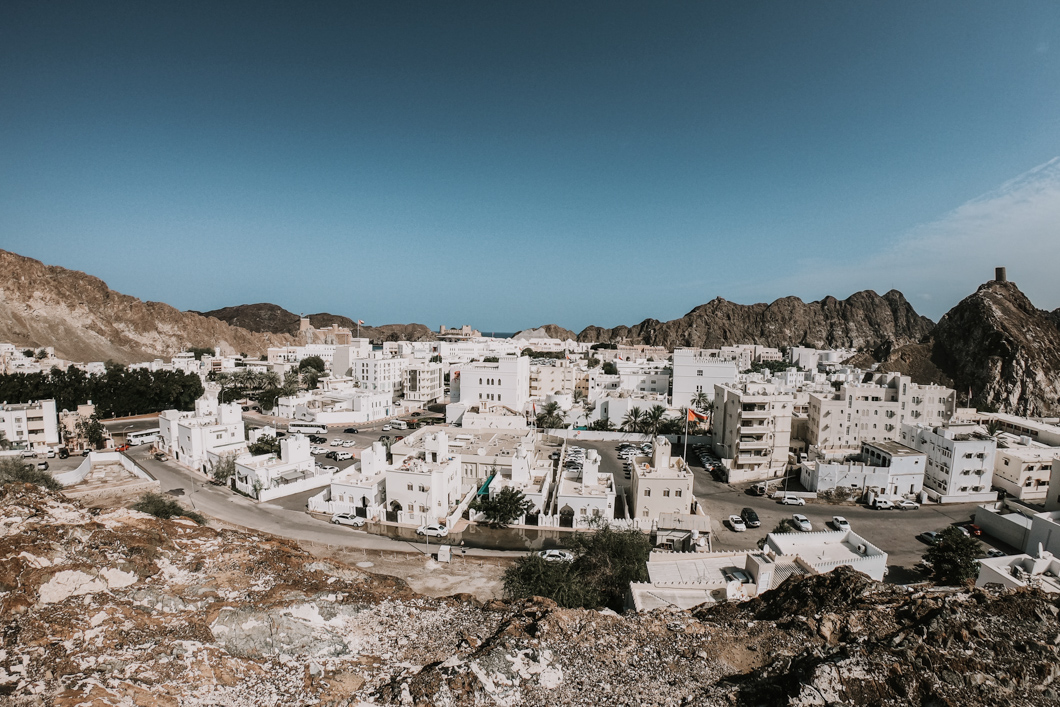 View over Old Muscat
