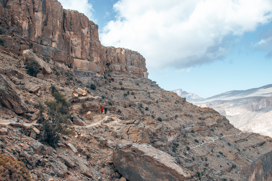 Hiking Oman - road trip in Oman