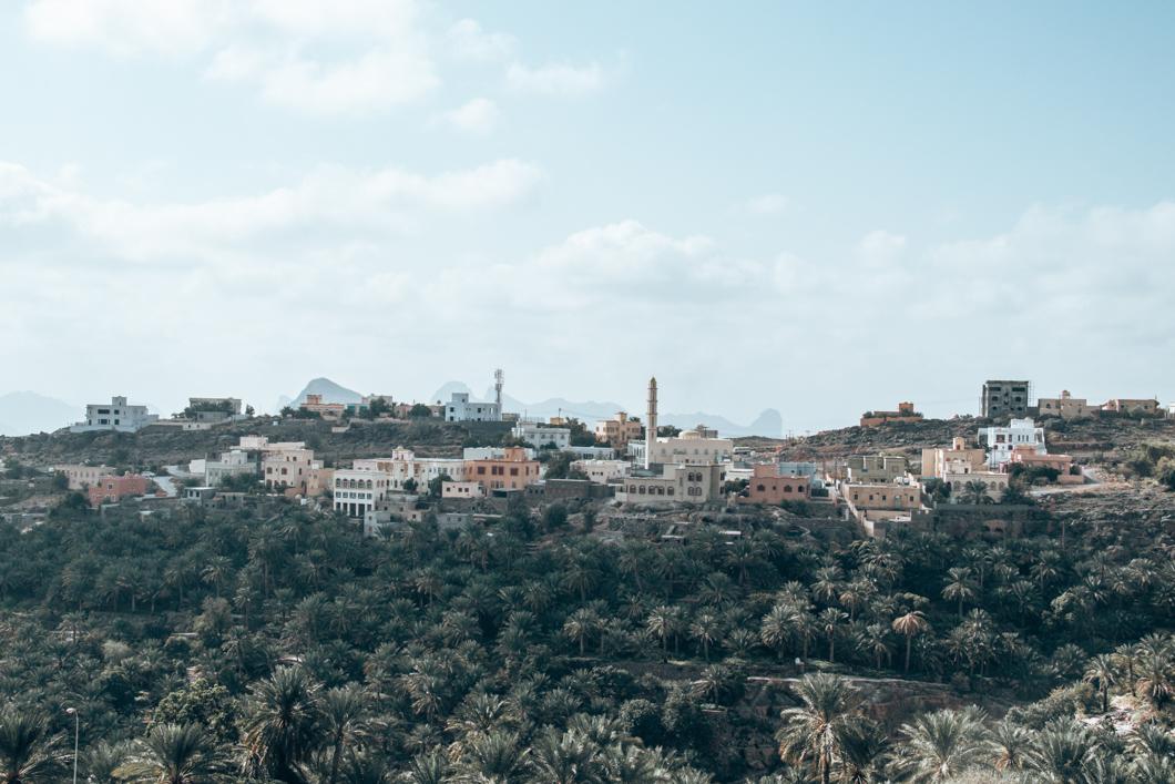road trip in Oman - Misfat Al Abriyeen views
