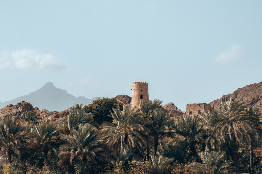 Oman watchtowers