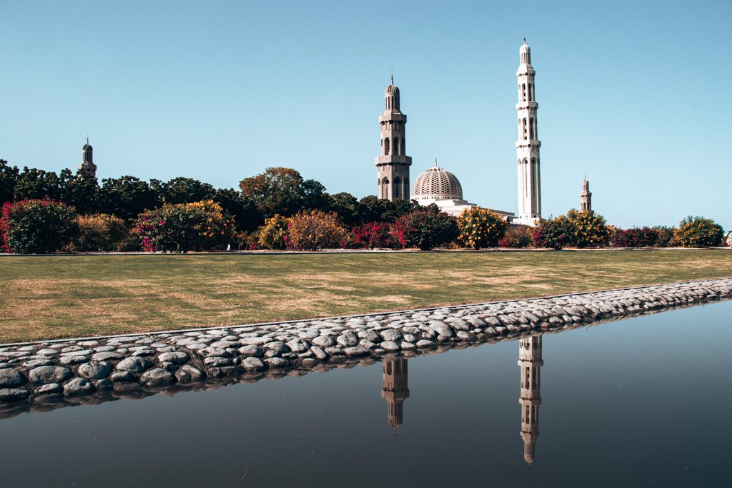 Sultan Qaboos Grand Mosque Reflections