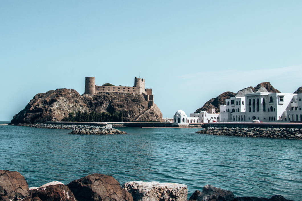 Old Muscat waterfront