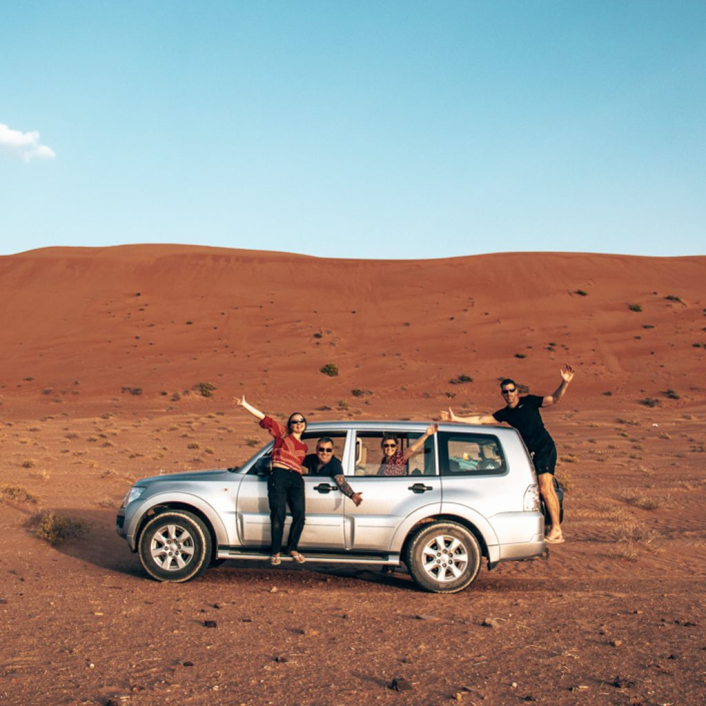 road trip in Oman - Driving Wahiba Sands