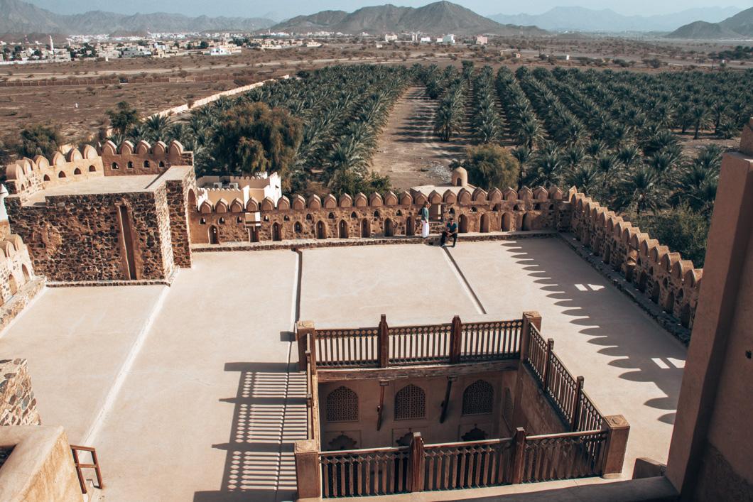 Jibreen Castle - Oman Travel Guide